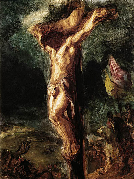 Delacroix Christ on the Cross