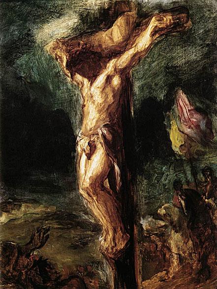 Delacroix Christ on the Cross